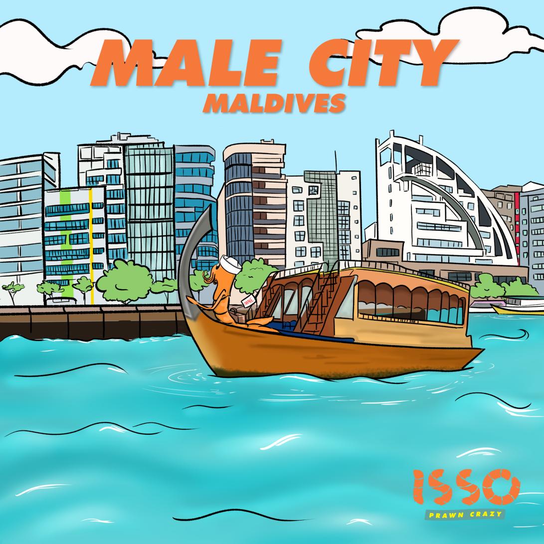 ISSO Maldives in Male' city