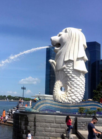 The Merlion - Singapore